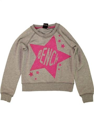 Sweat fille BENCH beige 8 ans hiver #1473055_1