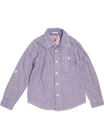 Chemise manches longues garçon FAT FACE violet 9 ans hiver #1473611_1