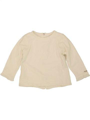 Camiseta de manga larga niña ABSORBA beige 6 meses invierno #1474549_1