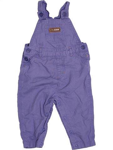 Salopette garçon GEORGE violet 12 mois hiver #1476634_1