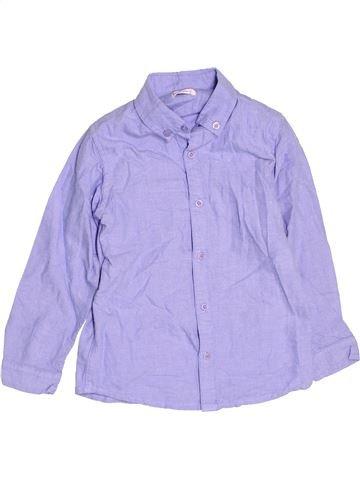 Chemise manches longues garçon HEATONS violet 7 ans hiver #1477067_1