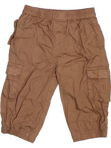 Pantalon garçon SMILE marron 18 mois hiver #1477206_1
