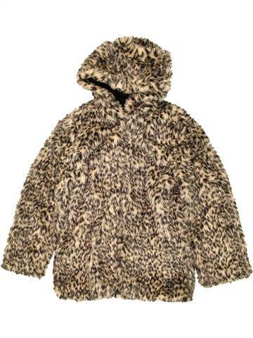 Manteau fille CANDY COUTURE marron 13 ans hiver #1477958_1