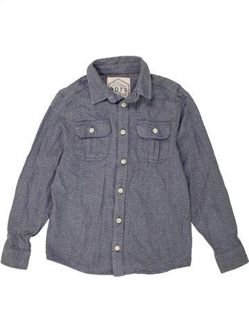 Camisa de manga larga niño BOYS azul 8 años invierno #1477975_1
