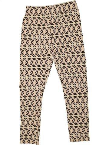 Pantalon fille RIVER ISLAND beige 10 ans été #1478577_1