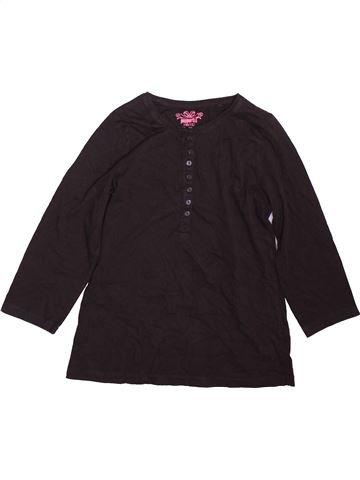 T-shirt manches longues fille PEPPERTS marron 12 ans hiver #1478620_1