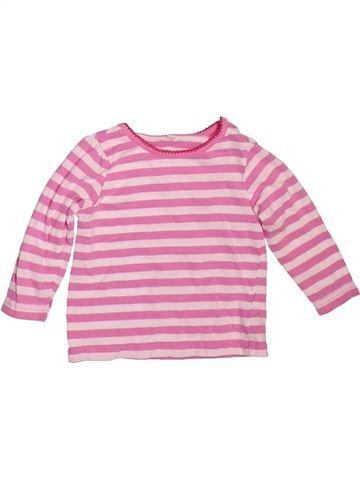Camiseta de manga larga niña BHS rosa 6 meses invierno #1478683_1