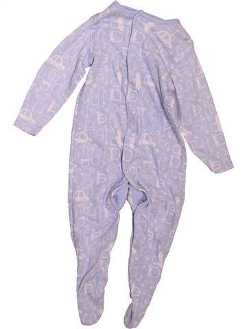 Pijama de 1 pieza niño F&F violeta 3 meses verano #1478827_1