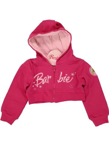Sweat fille BARBIE rose 5 ans hiver #1479033_1
