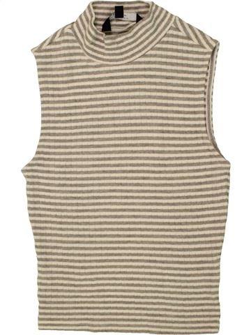 T-shirt col roulé fille NEW LOOK beige 13 ans hiver #1479129_1