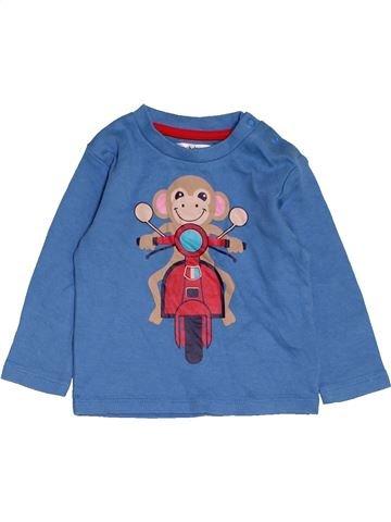 T-shirt manches longues garçon LADYBIRD bleu 6 mois hiver #1479142_1
