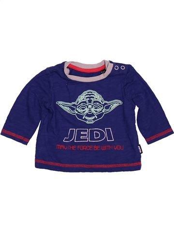 Camiseta de manga larga niño DEBENHAMS azul 3 meses invierno #1479749_1