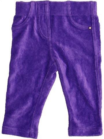 Pantalón niña LUPILU violeta 6 meses invierno #1480344_1