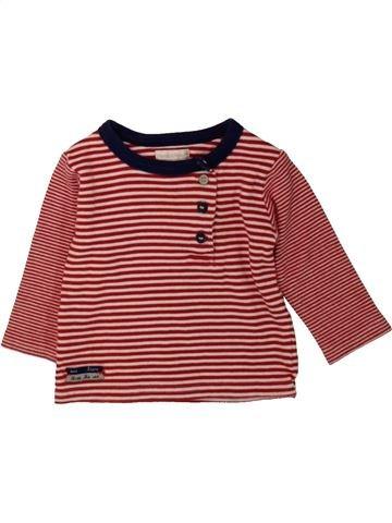 T-shirt manches longues garçon MAMAS & PAPAS marron 6 mois hiver #1480355_1