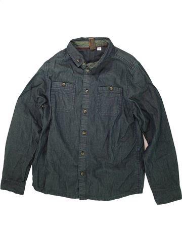 Chemise manches longues garçon URBAN 65 OUTLAWS gris 10 ans hiver #1480409_1