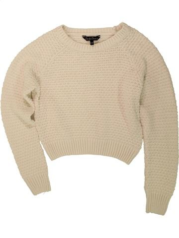 Pull fille CANDY COUTURE beige 13 ans hiver #1480460_1