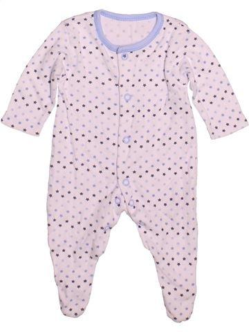 Pyjama 1 pièce garçon GEORGE blanc prématuré été #1480799_1