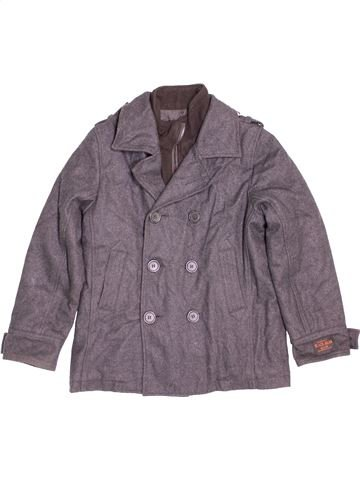 Manteau garçon OKAIDI gris 10 ans hiver #1480947_1
