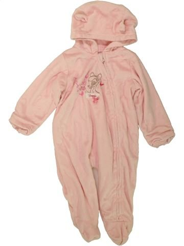 Robe de chambre fille GEORGE rose 6 mois hiver #1481016_1