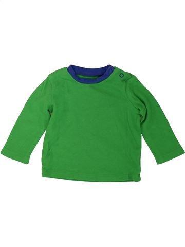 T-shirt manches longues garçon PEP&CO vert 6 mois hiver #1482060_1