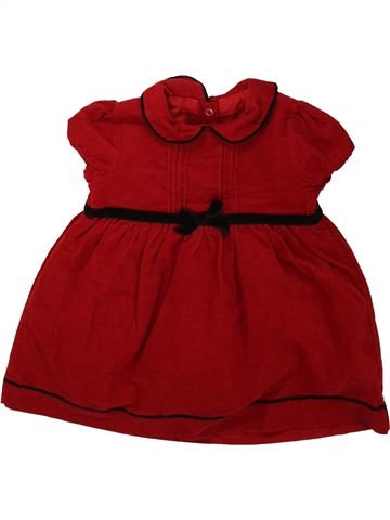 Robe fille PEP&CO marron 6 mois hiver #1482126_1