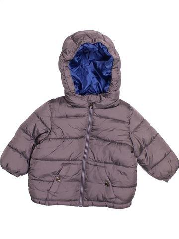 Doudoune garçon ZARA violet 6 mois hiver #1482470_1