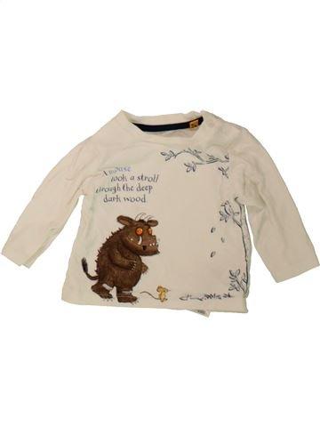 Camiseta de manga larga niño DEBENHAMS beige 3 meses invierno #1482744_1