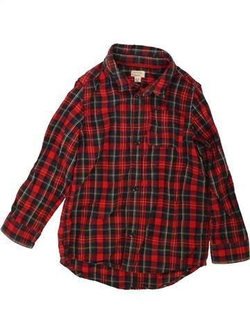 Chemise manches longues garçon RIVER ISLAND marron 4 ans hiver #1482763_1