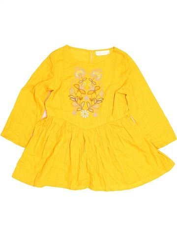 Blouse manches longues fille TAMMY jaune 12 ans hiver #1483294_1