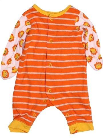 Combinaison longue garçon MOTHERCARE orange naissance hiver #1484202_1