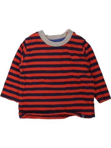 T-shirt manches longues garçon SANS MARQUE violet 6 mois hiver #1484355_1