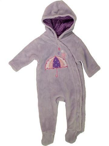 Robe de chambre fille BABY BERRY gris 3 mois hiver #1484751_1