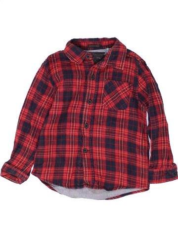 Chemise manches longues garçon ZARA violet 3 ans hiver #1484836_1