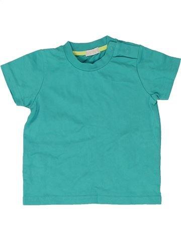 T-shirt manches courtes garçon BAMBINI vert 12 mois été #1485038_1