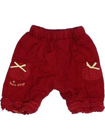 Pantalon fille SUCRE D'ORGE rouge 1 mois hiver #1485107_1