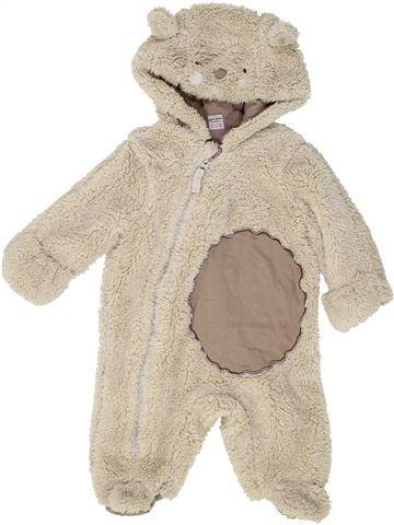 Robe de chambre garçon TU gris 3 mois hiver #1485277_1
