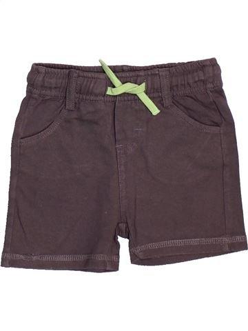Short - Bermuda garçon GEMO violet 12 mois été #1485297_1