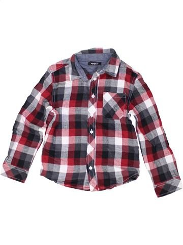 Chemise manches longues garçon PEP&CO violet 7 ans hiver #1485339_1