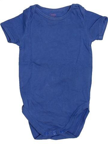 Camiseta de manga corta niño HEMA azul 6 meses verano #1485355_1