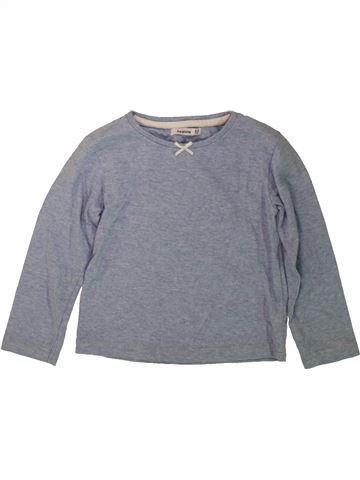 T-shirt manches longues fille HEATONS gris 3 ans hiver #1485510_1