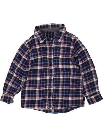 Camisa de manga larga niño DUNNES STORES azul 3 años invierno #1485594_1