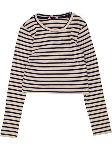Camiseta de manga larga niña MISS E-VIE marrón 10 años invierno #1485596_1