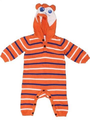 Combinaison longue garçon MINI CLUB orange 3 mois hiver #1485709_1