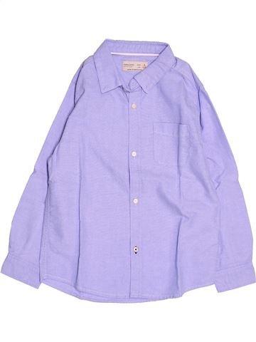 Chemise manches longues garçon ZARA gris 6 ans hiver #1485732_1