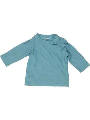 Camiseta de manga larga niño F&F azul 3 meses invierno #1485865_1
