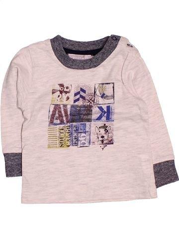 Camiseta de manga larga niño GRAIN DE BLÉ violeta 3 meses invierno #1485909_1
