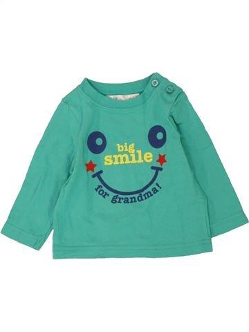 Camiseta de manga larga niño M&CO verde 6 meses invierno #1486012_1