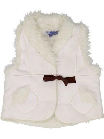 Gilet fille LISA ROSE blanc 4 ans hiver #1486118_1