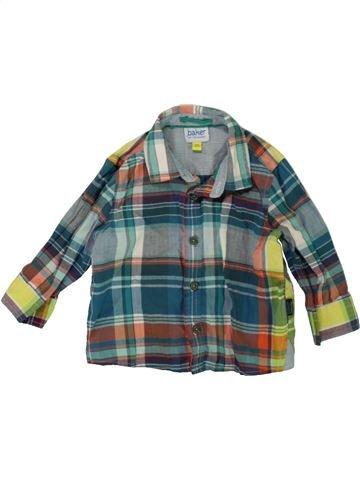 Camisa de manga larga niño TED BAKER gris 6 meses invierno #1486151_1