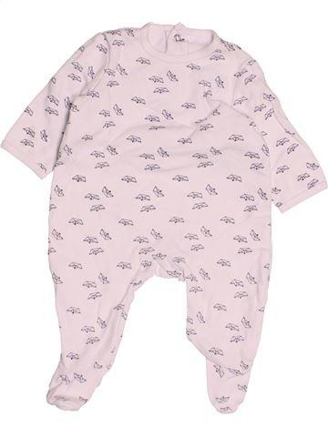 Pijama de 1 pieza niño LA REDOUTE rosa 3 meses verano #1486820_1
